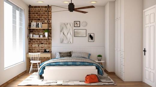Bedroom Mattress Bag Chair Desk - BUMIPUTRA / Pixabay