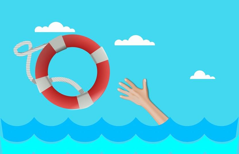 Hand Lifebuoy Buoy Drowning Life