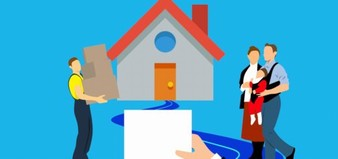 House Moving Contract Box Family