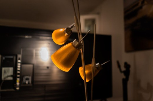 Lamp Floor Lamp Evening Gold