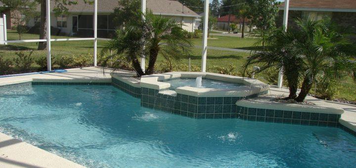 Zimní zahrada s bazénem