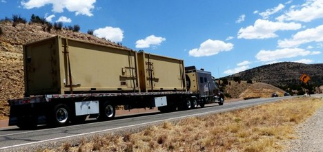 Truck Transport Road Trailer Slope